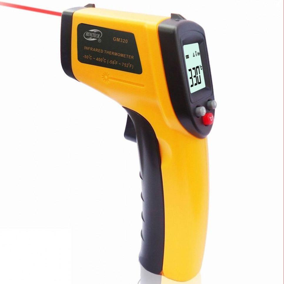 Термометр бесконтактный инфракрасный Benetech GM320